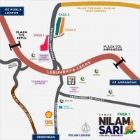 Kediaman baru di Taman Nilam Sari DSTH - Temiang, Seremban